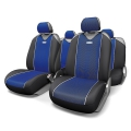 Чехол Autoprofi Carbon Plus Black-Blue CRB-902P BK/BL