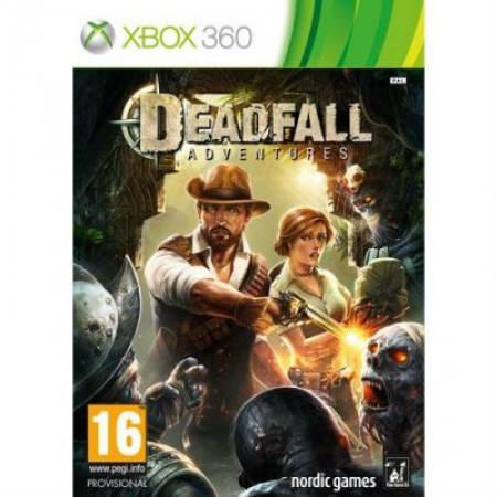 Игра для Xbox 360 модель DEADFALL ADVENTURES STANDARD EDITION