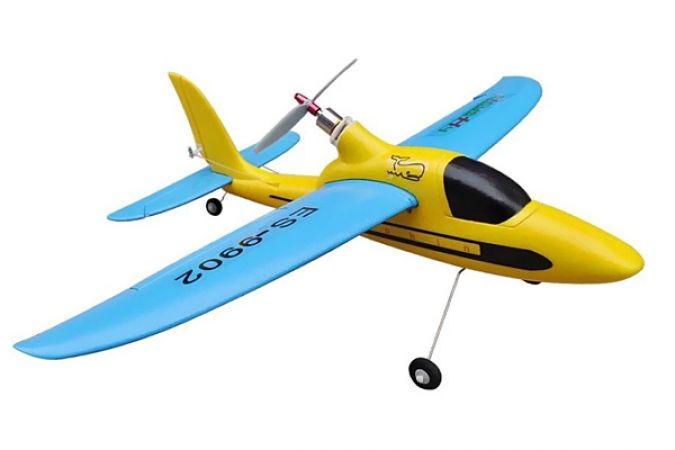 Easy-Sky Sport Plane 4ch 2.4G RTF Blue-Yellow