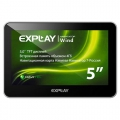 "Навигатор Explay Wind 5"" 480x272 4Gb microSD Bluetooth Navitel черный модель 4104085"