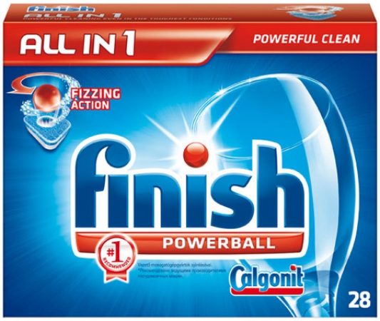 Finish All in 1 28шт.