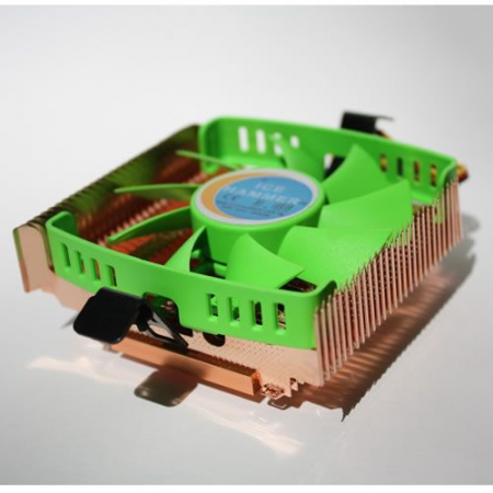 Cooler for CPU Ice Hammer IH-1000 HTPC (s775/1155/1156/1150/AM2/AM3/754/939/940) Low profile