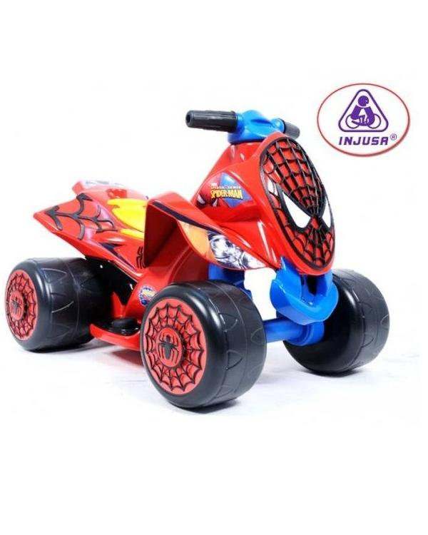 Injusa 6V Quad Spider Sense Spider-man Injusa