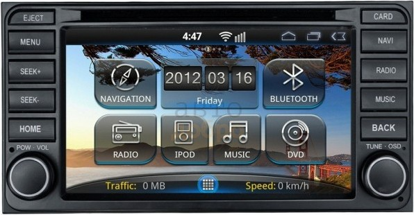 Intro AHR-2285 Android Toyota Universal 2013