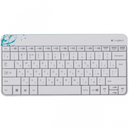 Клавиатура+мышь Logitech Wireless Combo MK240 White USB 920-005791