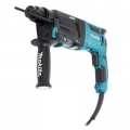 Перфоратор Makita модель SDS-PLUS HR-2611FTX5 (800 ВТ, 2,9 ДЖ, 3 КГ,AVT.SDS ПАТРОН, 3 РЕЖ, 5 БУРОВ, ПЫЛЕСБОРНИК, КЕЙС)
