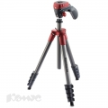 Штатив Manfrotto модель COMPACT ACTION RED MKCOMPACTACN-RD!КРАСНЫЙ