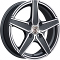 NZ Wheels  F-1 5.5x14/4x98 D58.6 ET35 BKF