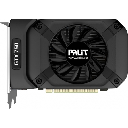 Видеокарта Palit GeForce GTX 750 StormX OC 1GB