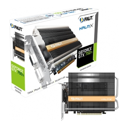 Видеокарта Palit GeForce GTX 750 Ti KalmX 2GB