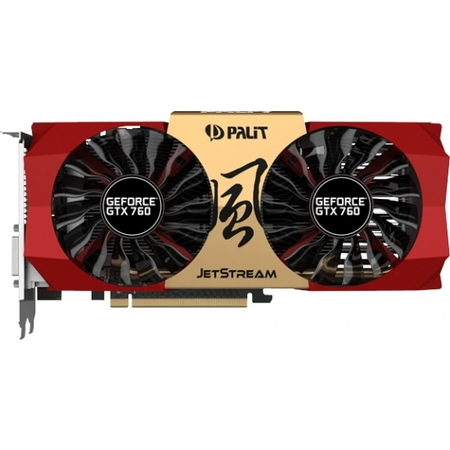 Видеокарта Palit GeForce GTX 760 JETSTREAM (2048MB GDDR5)