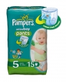 Pampers Active Boy Junior 12-18 кг 15 шт