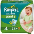 Pampers Active boy Maxi 9-14 кг 23 шт 255307