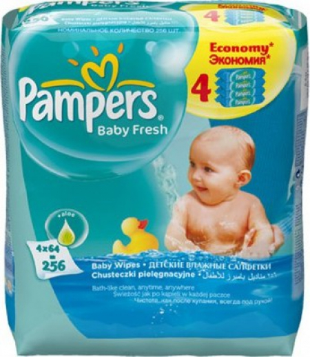 Pampers Baby Fresh 4х64 439264