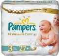 Pampers Premium care Midi 4-9 кг 27 шт 274759