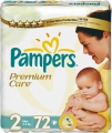Pampers Premium care Mini 3-6 кг 72 шт 274728