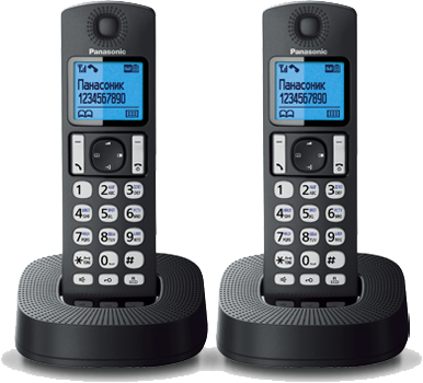 Panasonic KX-TGC322RU1 Black