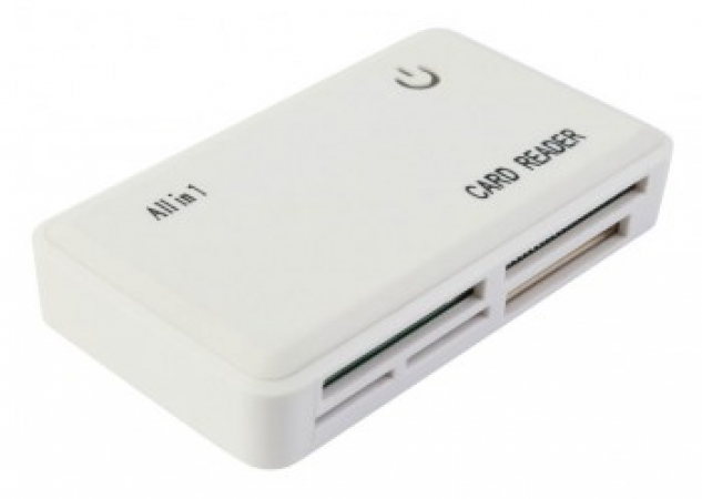 PC PET CR-211RWH USB 2.0  24 in 1 White модель CR-211RWH USB 2.0 24 IN 1 WHITE