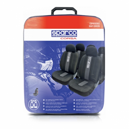 Чехол Sparco Racing SPC/RCN-1105 BK/GY Black-Grey