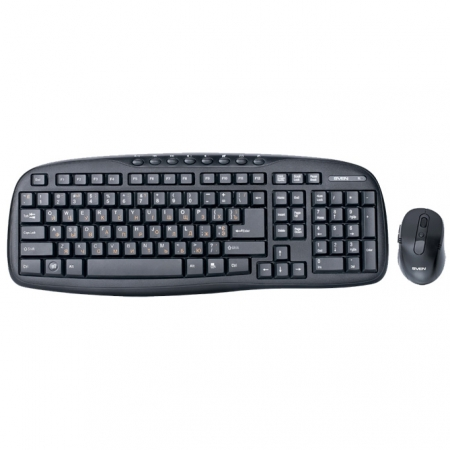 Клавиатура+мышь SVEN Comfort 3400 Wireless Black USB модель SV-03103400WB