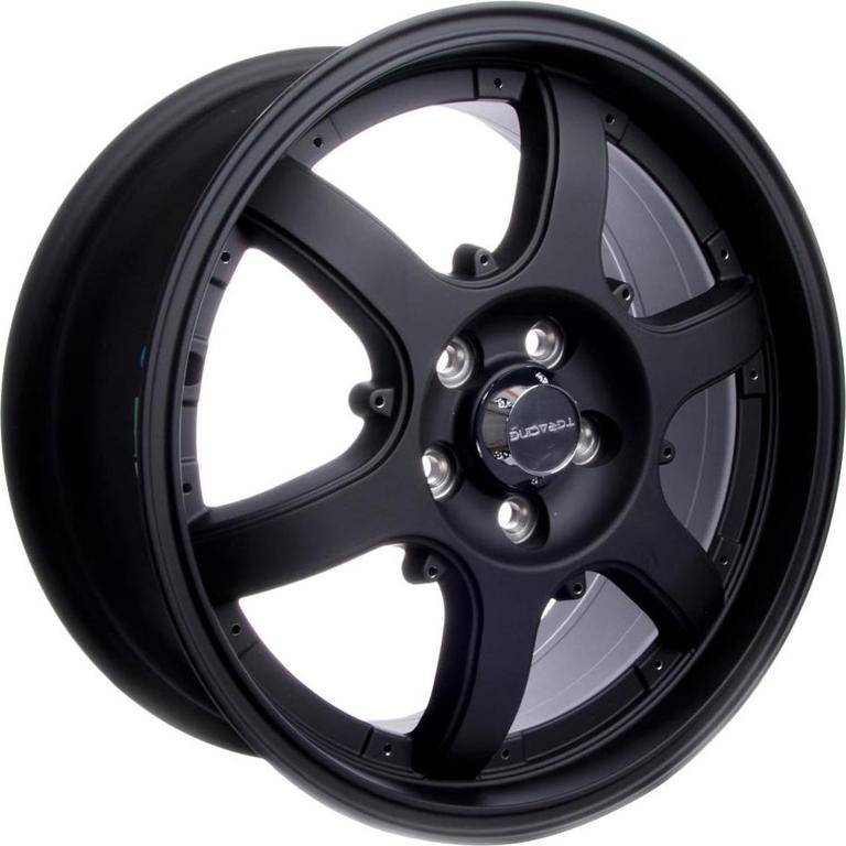 TGRacing LZ417 6.5x16/4x108 D63.3 ET45 Matt Black