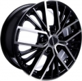 TGRacing LZ742 7x17/5x114.3 D60.1 ET45 Matt Black Pol