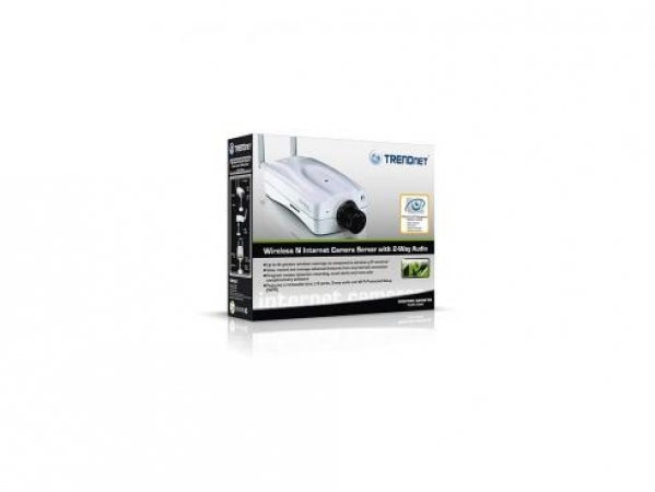 Веб-Камера TRENDnet TV-IP512WN Advanced Camera, 802.11n, 640x480, CMOS, 2-way audio, MPEG-4/MJPEG, PoE