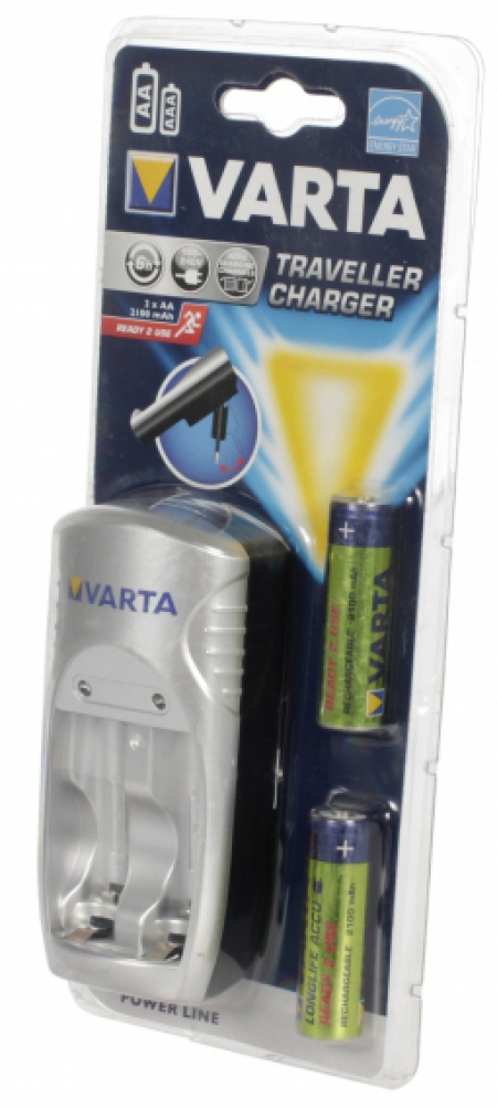 Varta Power Traveller + 2xAA 2100 mAh R2U