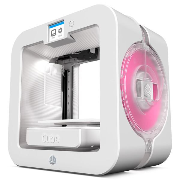 3D Systems Cube 3 White 392200
