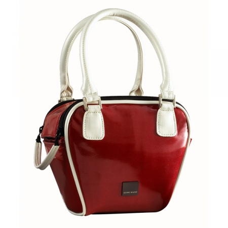 Acme Made Bowler Bag - Red/Rouge