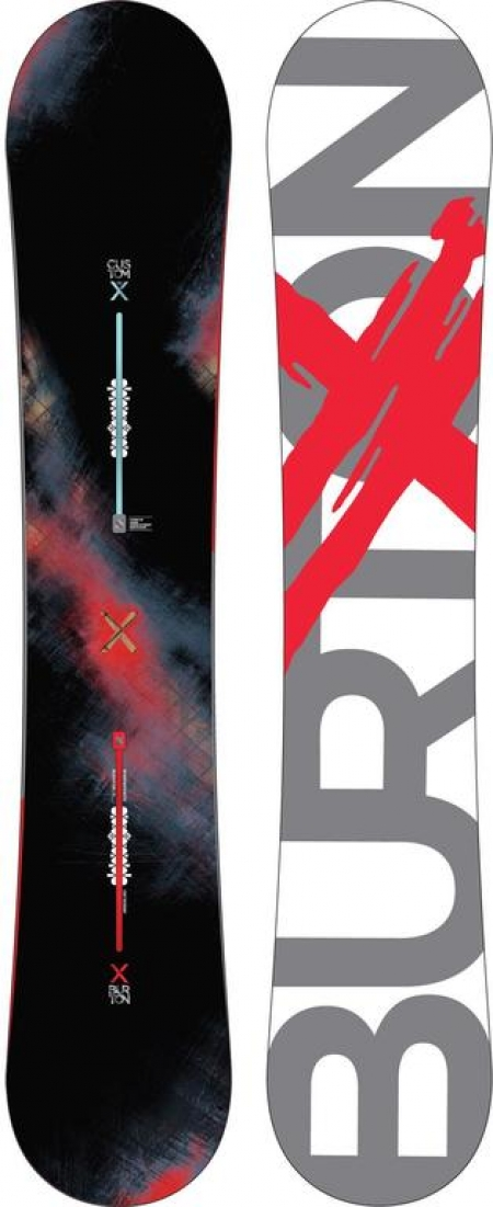 Burton Custom X Assorted 2014-2015 162 W
