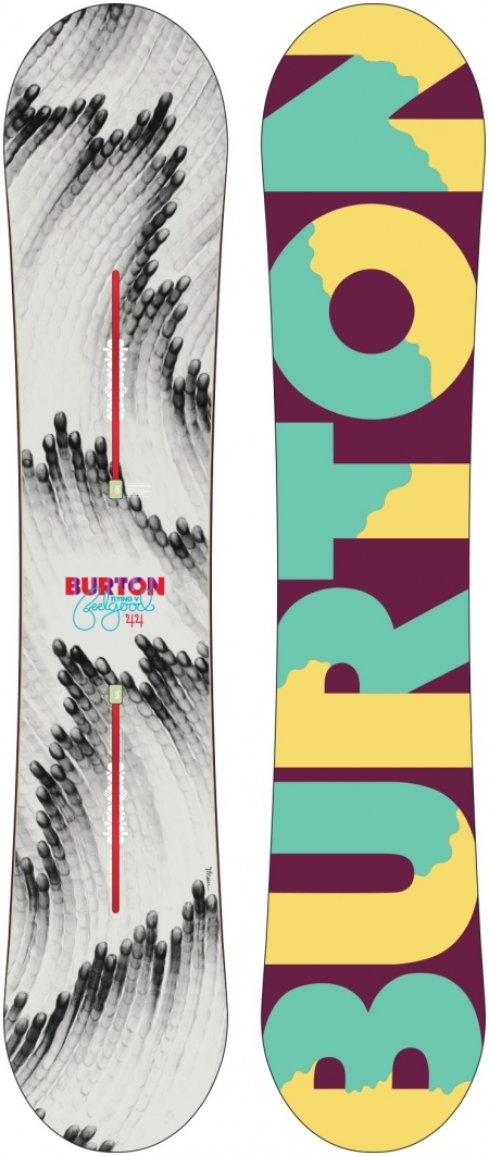 Burton FEELGOOD FLYING V женский