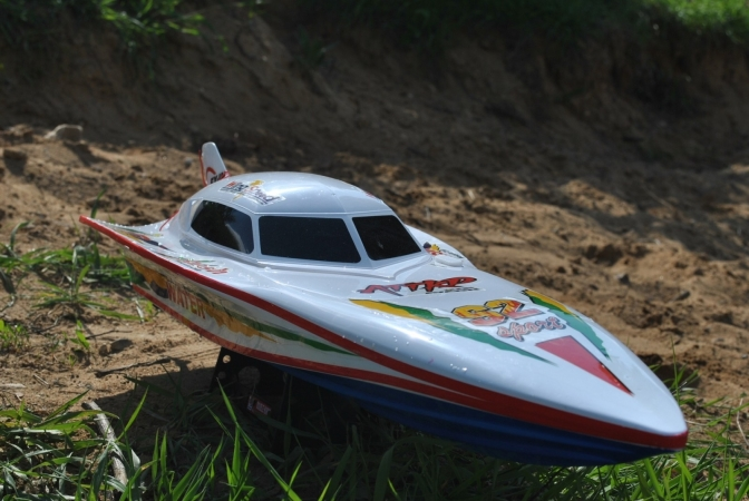 Double Horse EP Racing Boat 7000