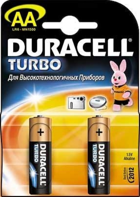 Duracell AA-1500 Turbo BL-2