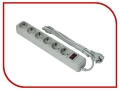 Сетевой фильтр ExeGate 6 Sockets 3m Grey SP-6-3G 119392