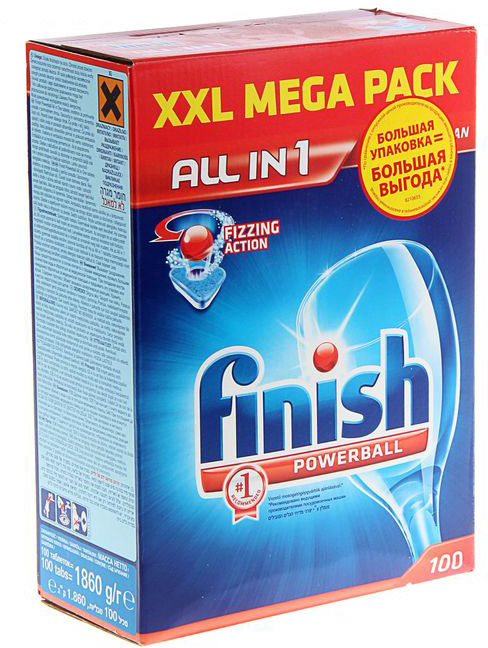 Finish All in1 Fizzing Action