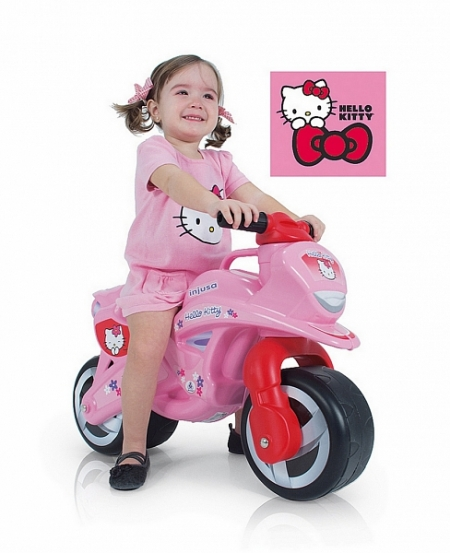 Injusa велобалансир-каталка injusa tundra hello kitty 1954 модель ВЕЛОБАЛАНСИР-КАТАЛКА TUNDRA HELLO KITTY 1954