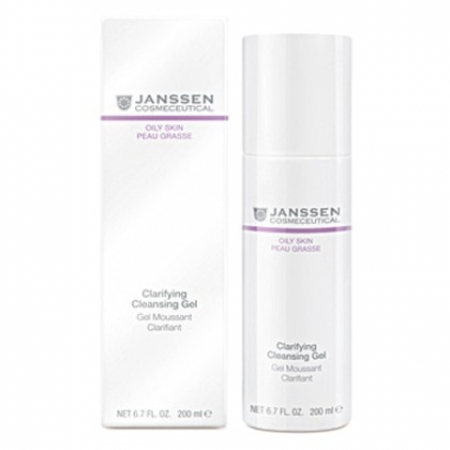 Janssen очищающий (Clarifying Cleansing Gel), 200 мл.