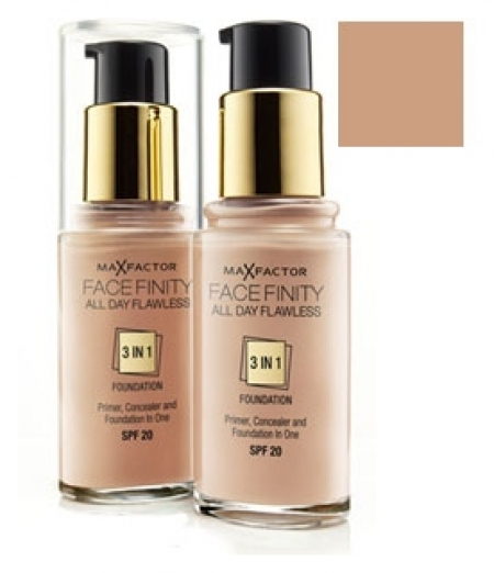 Тональная основа Max Factor Facefinity All Day Flawless 3-in-1 тон 75 golden модель 81377981