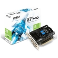 MSI GeForce GT 740 1006Mhz PCI-E 3.0 2048Mb 1782Mhz 128 bit DVI HDMI HDCP MSI