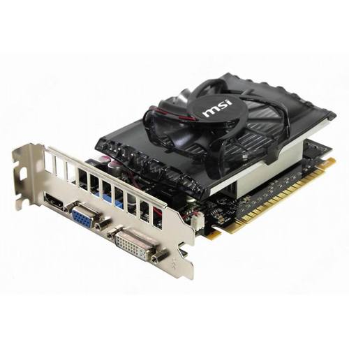 MSI GeForce GT 630 810Mhz PCI-E 2.0 4096Mb 1000Mhz 128 bit VGA DVI HDMI HDCP (N630GT-MD4GD3) MSI