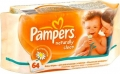 Pampers Naturally Clean 64 шт
