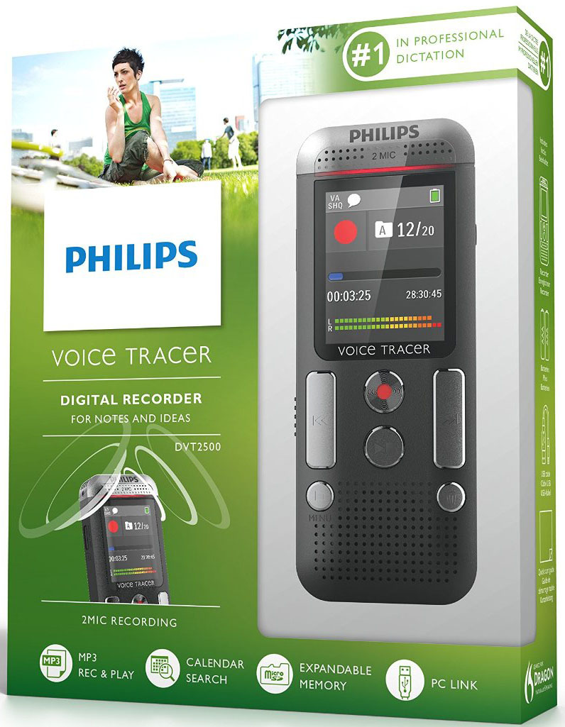 Диктофон Philips DVT2500
