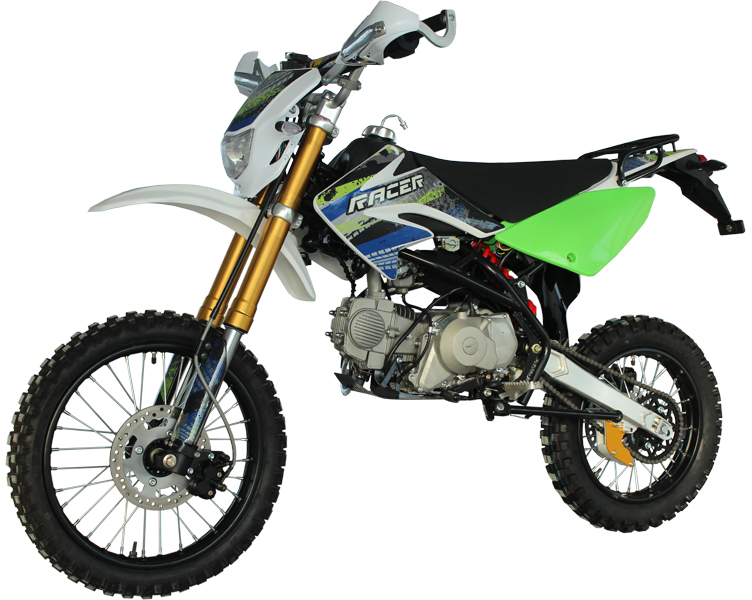 Racer RC125-PE Pitbike Green