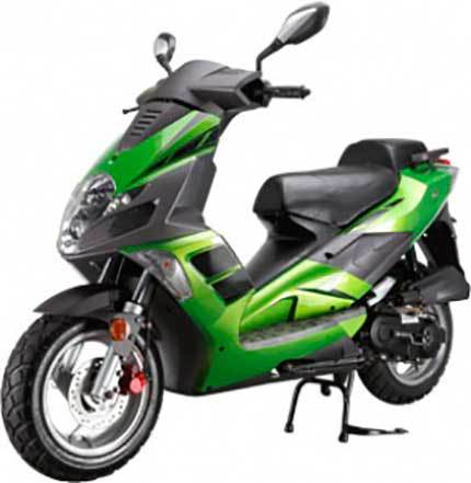 Racer RC50QT-19 Arrow Green