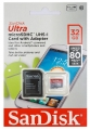 SanDisk Extreme microSDHC UHS-I Card for Action Cameras 32Гб class10 SanDisk