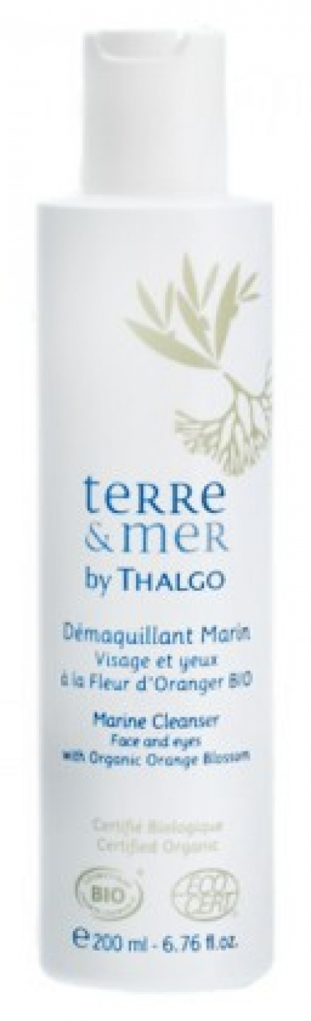 Thalgo Marine Cleanser with Orange Blossom. Terre and Mer, 200 мл