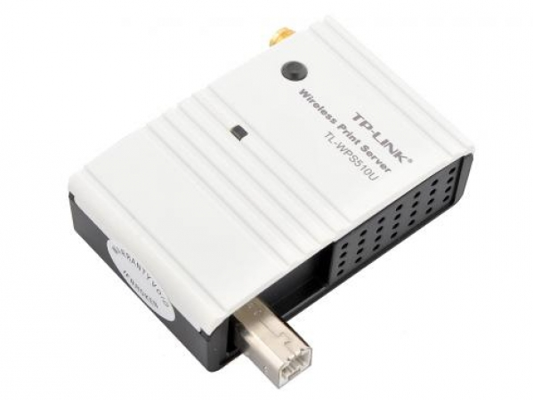 TP-LINK Принт-сервер TP-LINK TL-WPS510U Single USB2.0 port, Atheros, 802.11g, detachable модель ПРИНТ-СЕРВЕР TL-WPS510U SINGLE USB2.0 PORT, ATHEROS, 802.11G, DETACHABLE