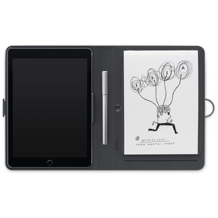 Графический планшет Wacom модель CDS-600C ФОЛИАНТ ДЛЯ APPLE IPAD AIR 2 СЕРЫЙ