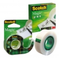 Клейкая лента канцелярская 3m SCOTCH MAGIC